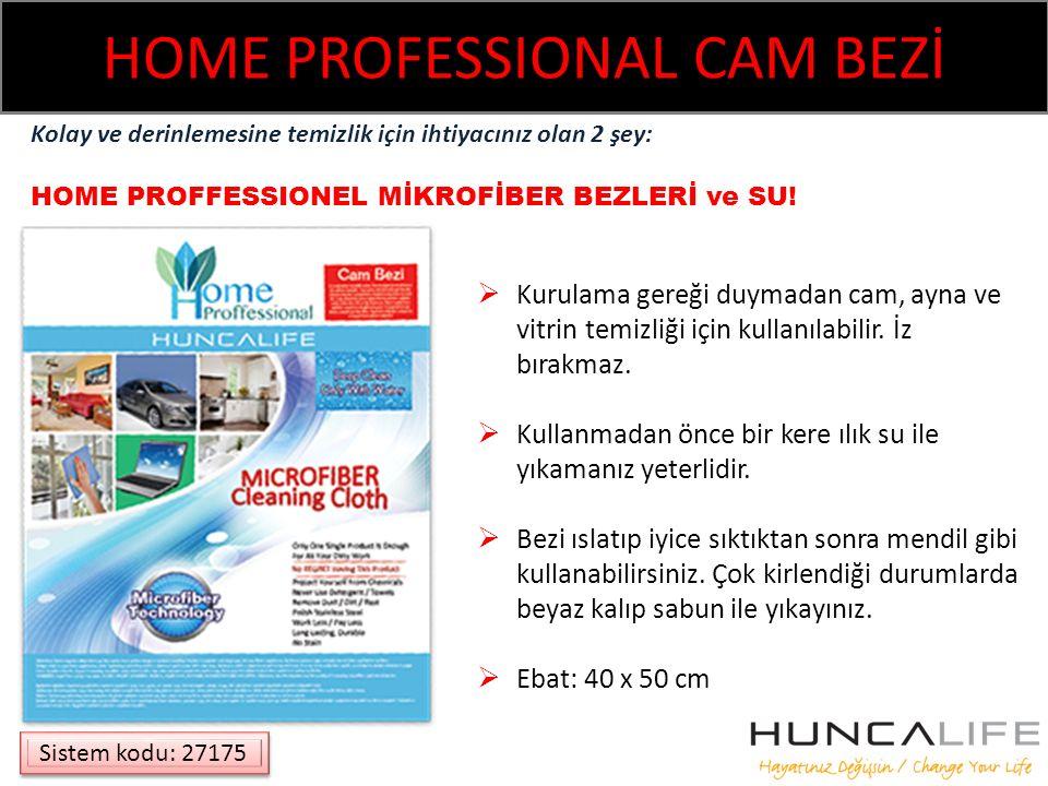 HOME PROFESSIONAL CAM BEZİ