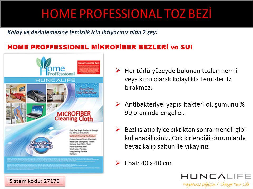 HOME PROFESSIONAL TOZ BEZİ