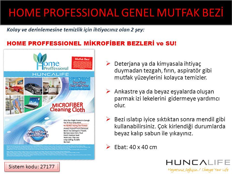 HOME PROFESSIONAL GENEL MUTFAK BEZİ