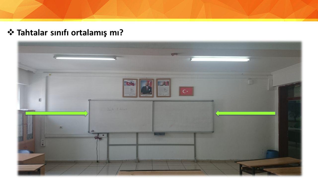 Tahtalar sınıfı ortalamış mı