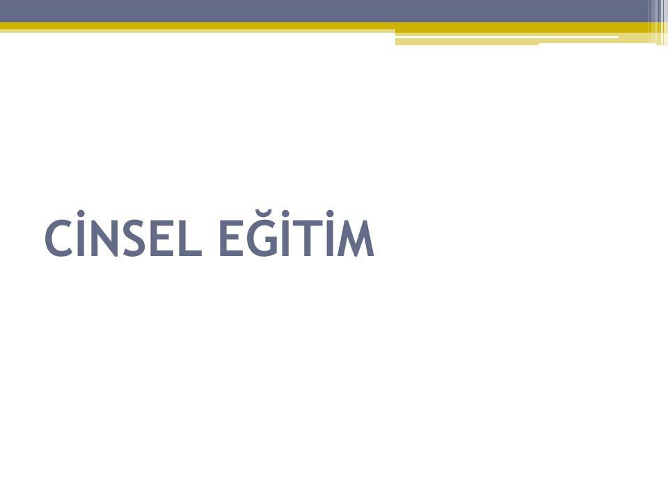 CİNSEL EĞİTİM
