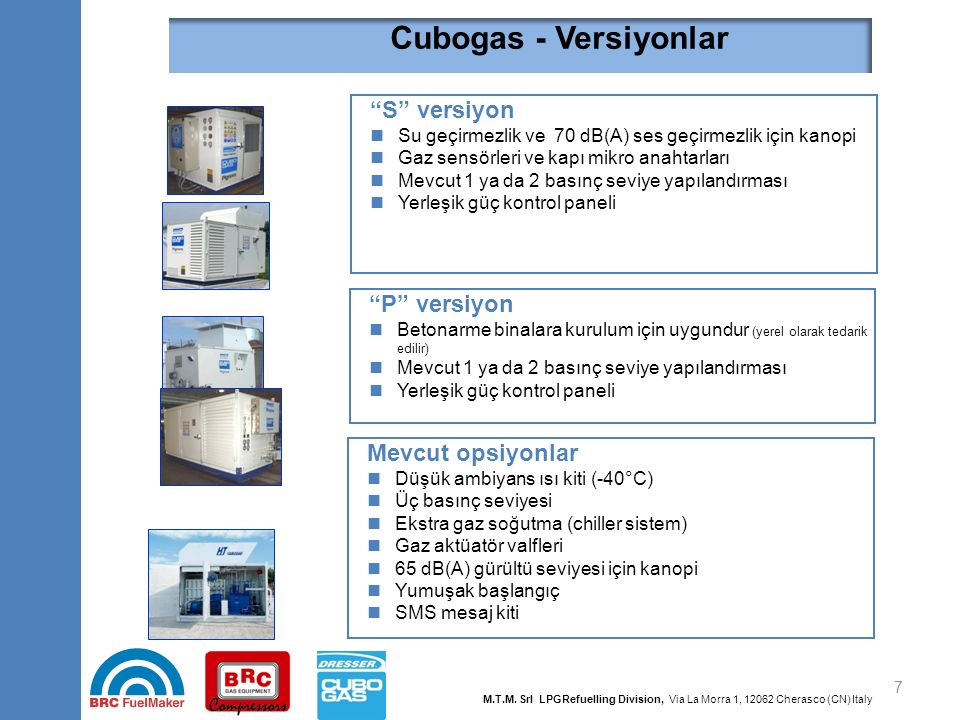 Cubogas - Top 10 Özellikler Faydalar Yüzden fazla mevcut yapılandırma