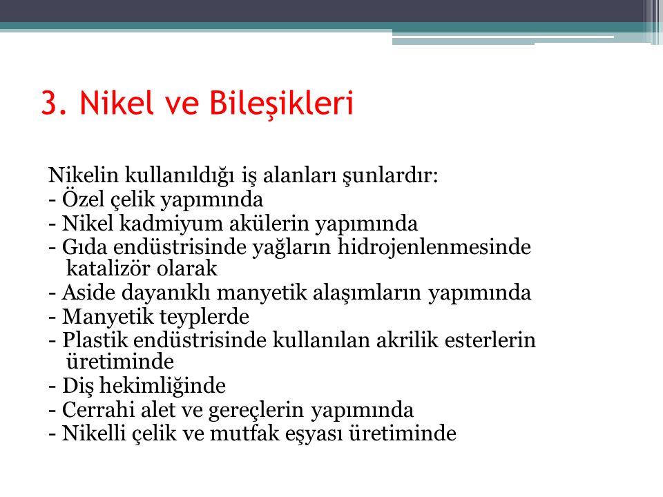 3. Nikel ve Bileşikleri