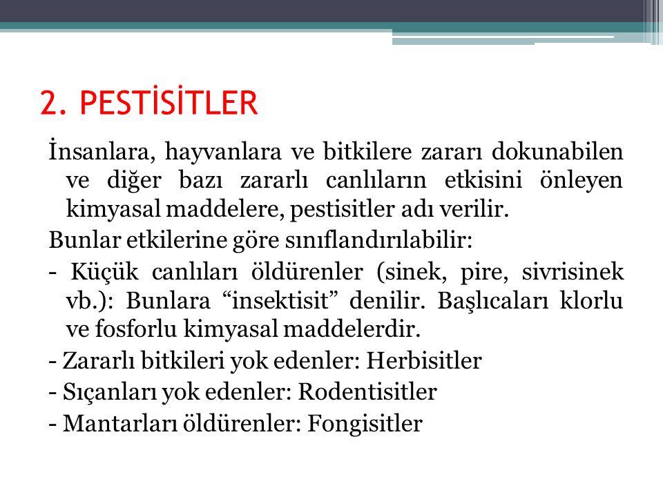 2. PESTİSİTLER