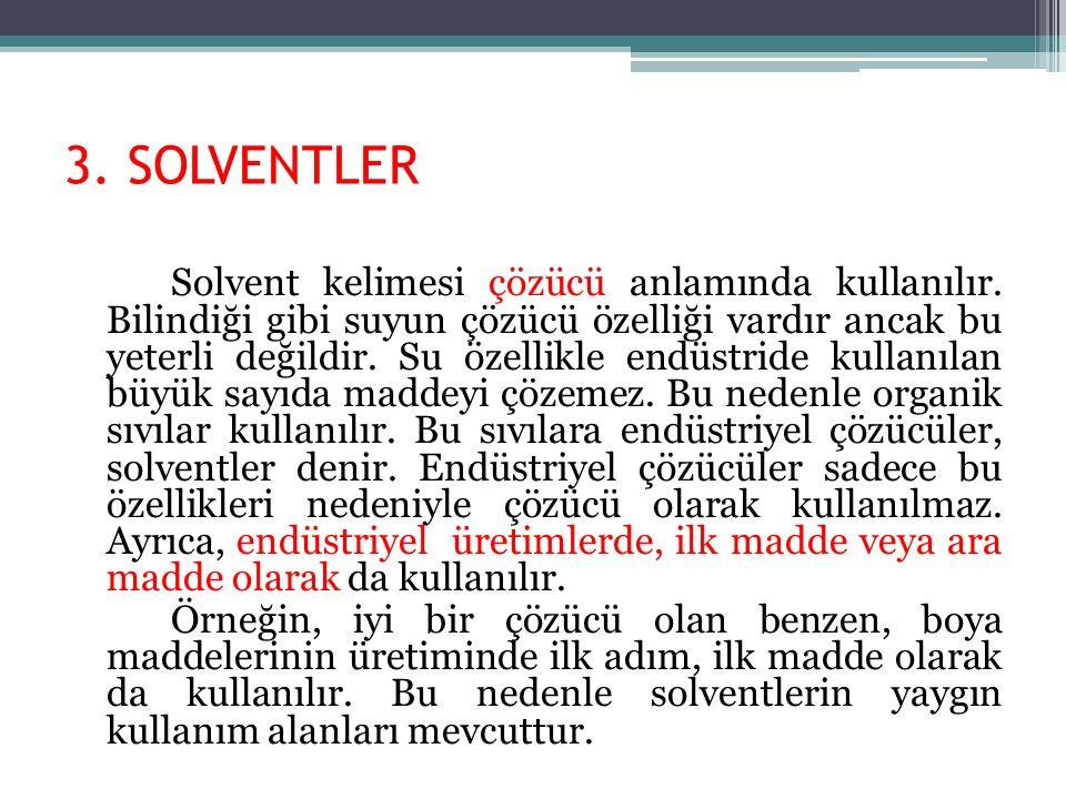 3. SOLVENTLER