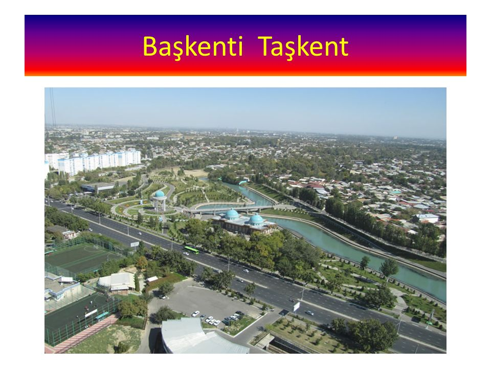 Başkenti Taşkent