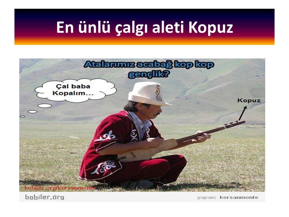 En ünlü çalgı aleti Kopuz