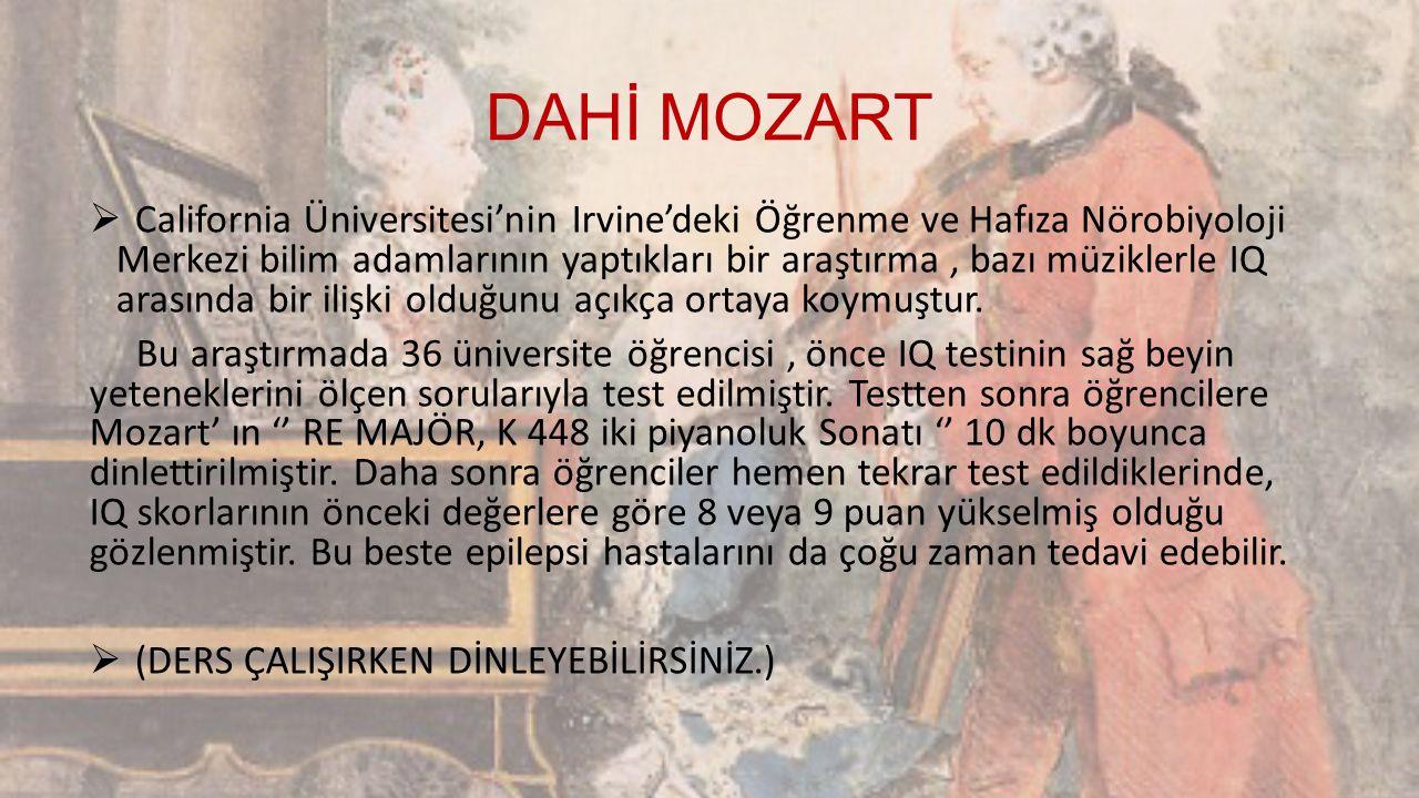 DAHİ MOZART