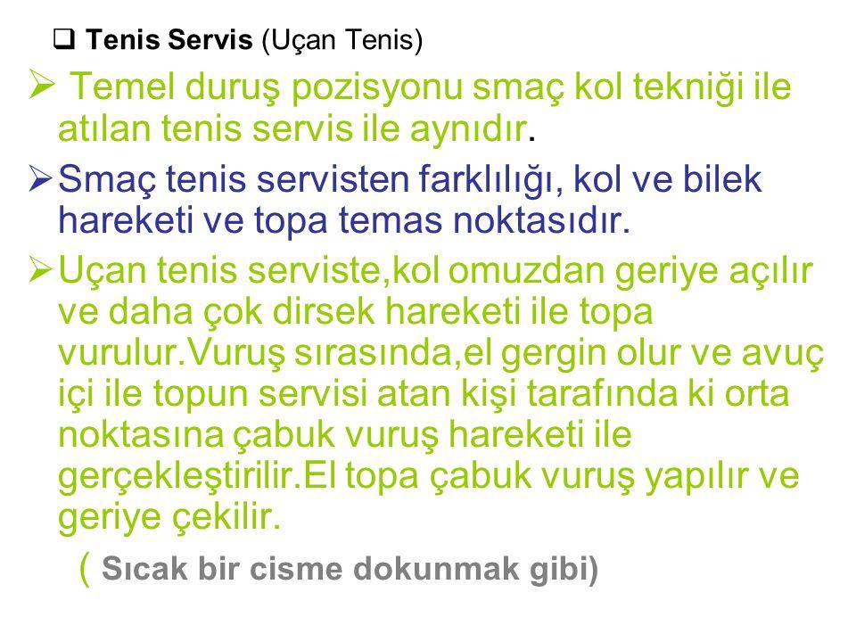 Tenis Servis (Uçan Tenis)