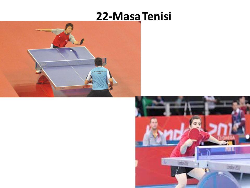 22-Masa Tenisi