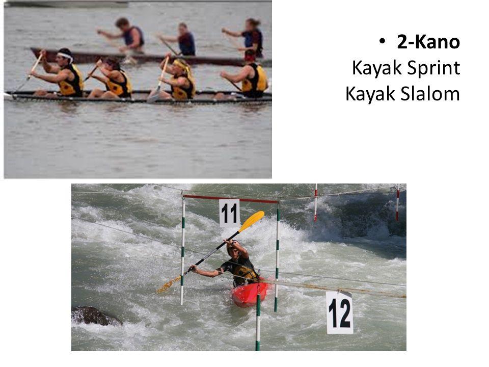 2-Kano Kayak Sprint Kayak Slalom