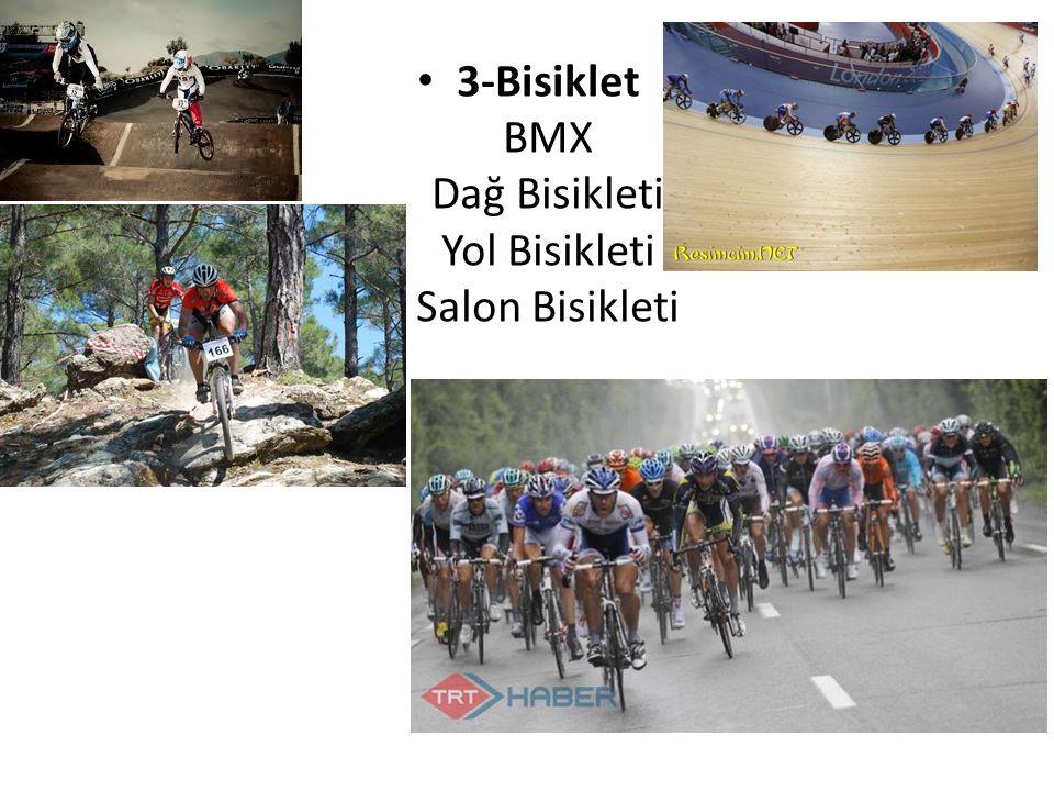 3-Bisiklet BMX Dağ Bisikleti Yol Bisikleti Salon Bisikleti