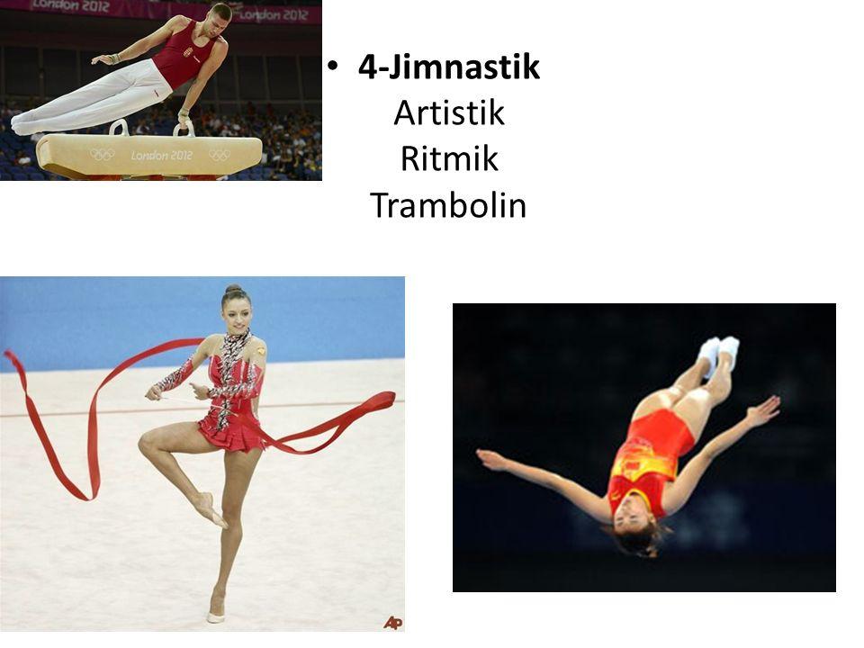 4-Jimnastik Artistik Ritmik Trambolin