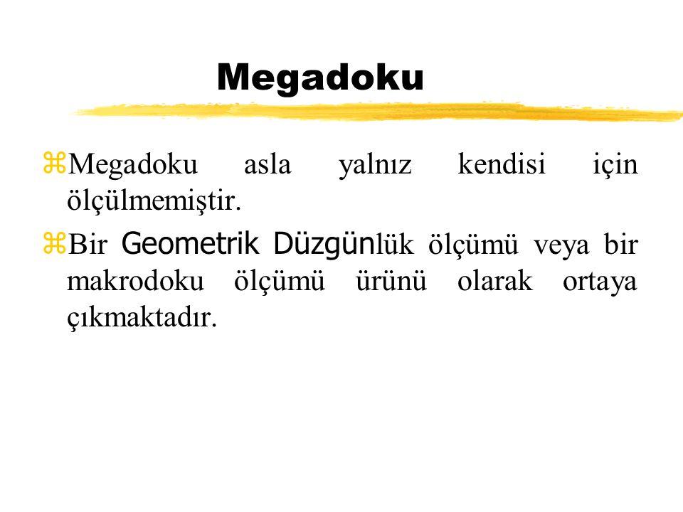 Megadoku Megadoku asla yalnız kendisi için ölçülmemiştir.