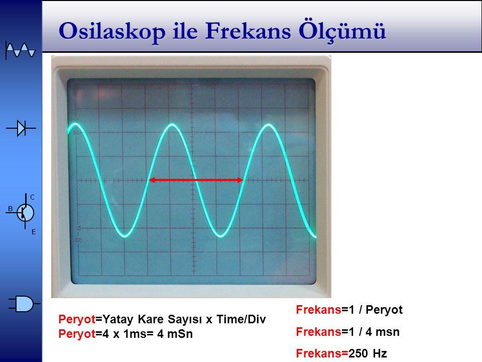 Osilaskop ile Frekans Ölçümü