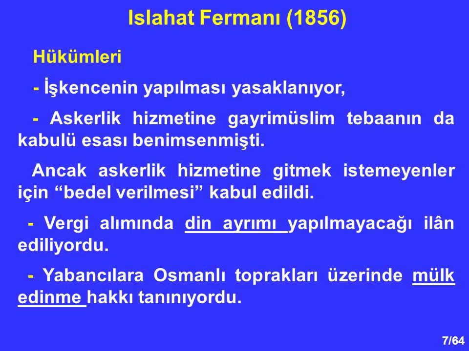 Islahat Fermanı (1856) Hükümleri - İşkencenin yapılması yasaklanıyor,