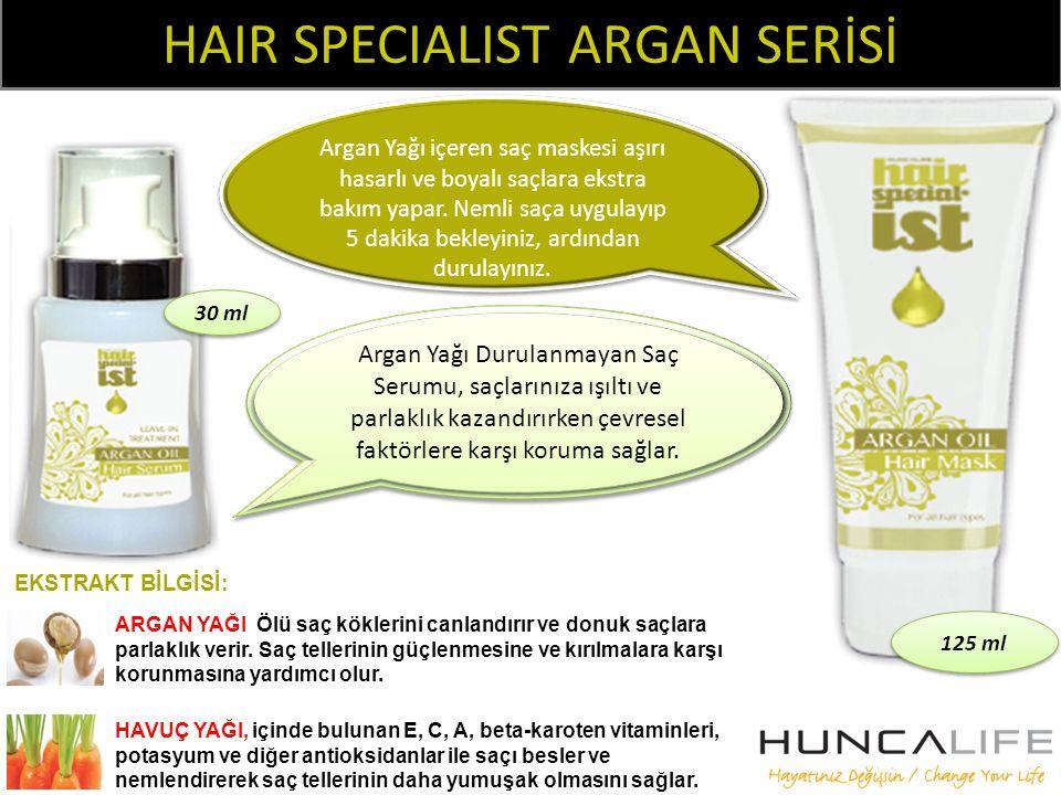 HAIR SPECIALIST ARGAN SERİSİ