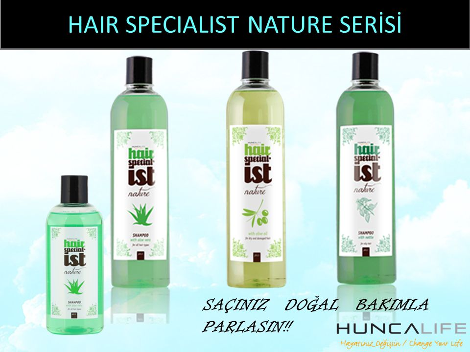 HAIR SPECIALIST NATURE SERİSİ