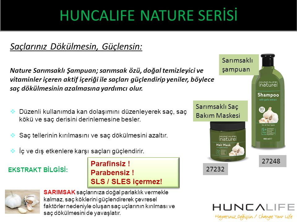 HUNCALIFE NATURE SERİSİ