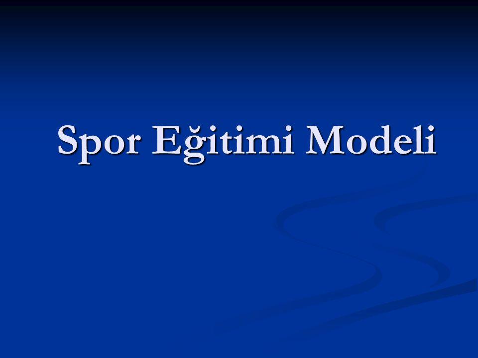 Spor Eğitimi Modeli