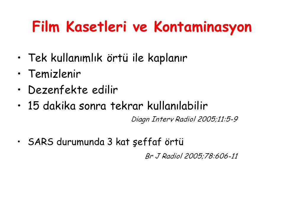 Film Kasetleri ve Kontaminasyon