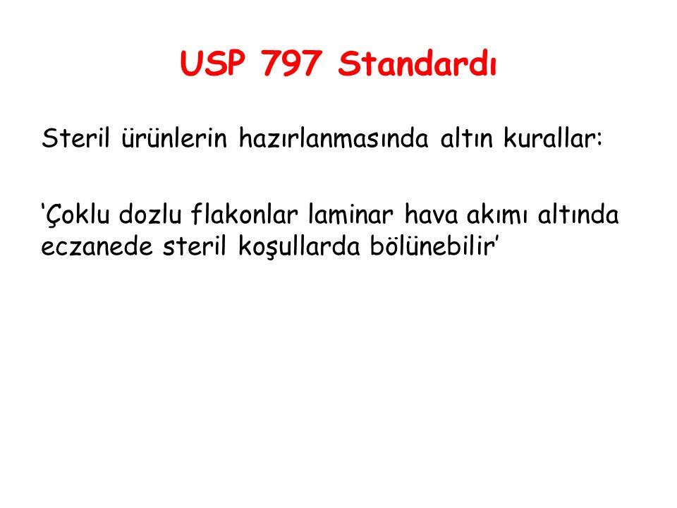 USP 797 Standardı