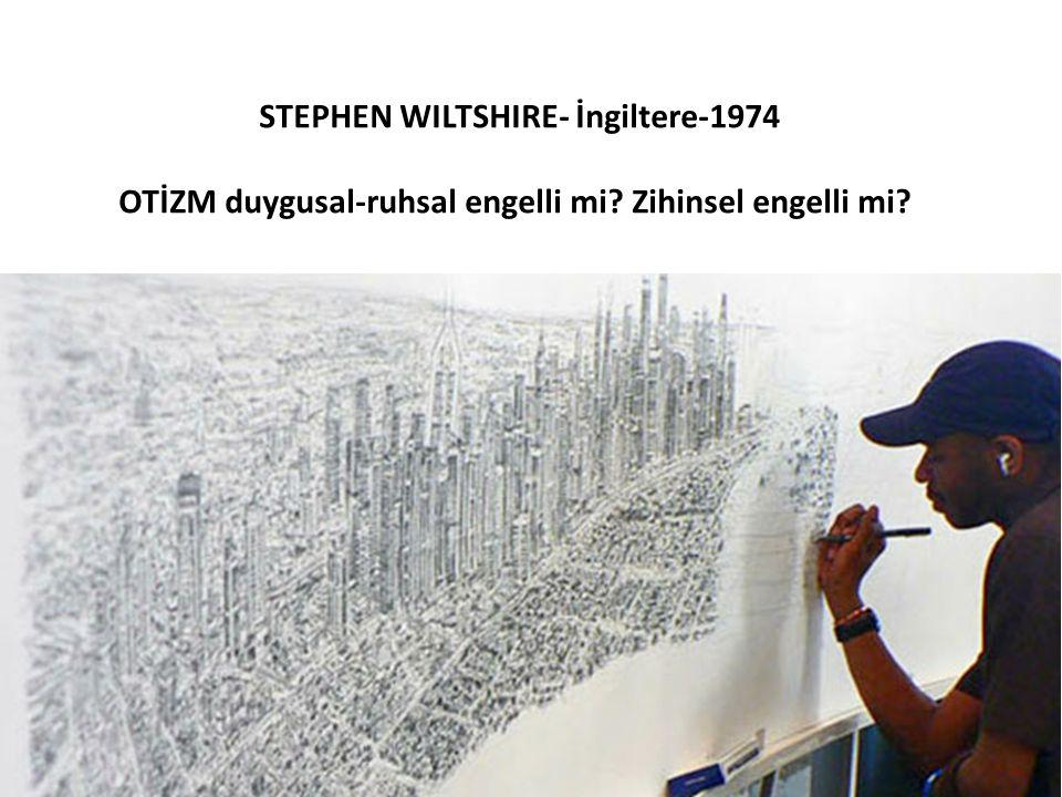 STEPHEN WILTSHIRE- İngiltere-1974