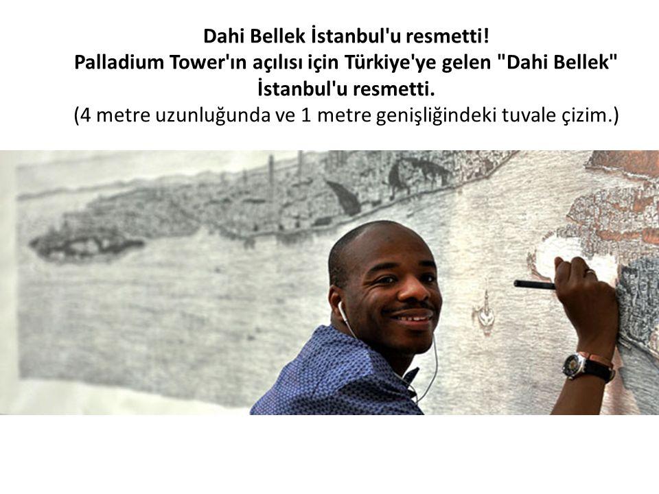 Dahi Bellek İstanbul u resmetti!