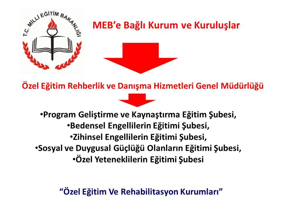 MEB'e Bağlı Kurum ve Kuruluşlar