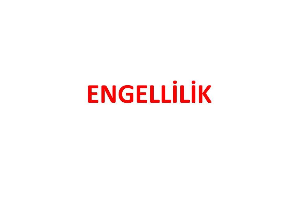 ENGELLİLİK