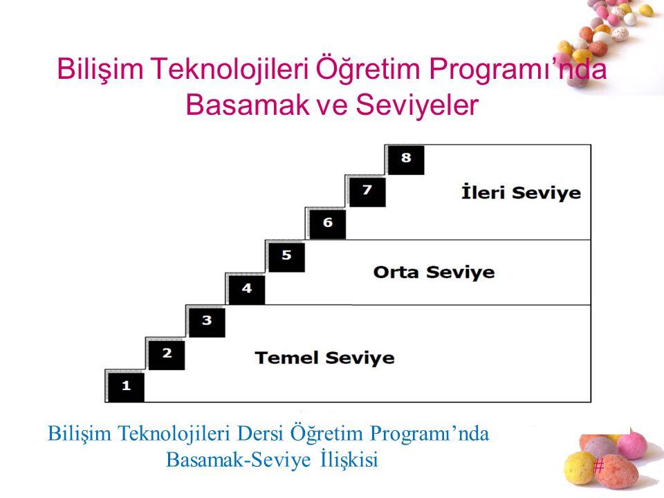 Bilişim Teknolojileri Öğretim Programı'nda Basamak ve Seviyeler