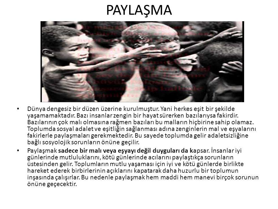 PAYLAŞMA