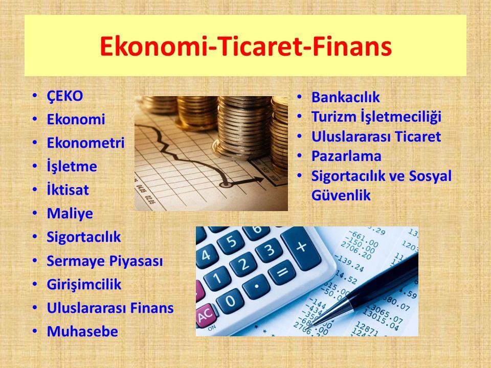Ekonomi-Ticaret-Finans