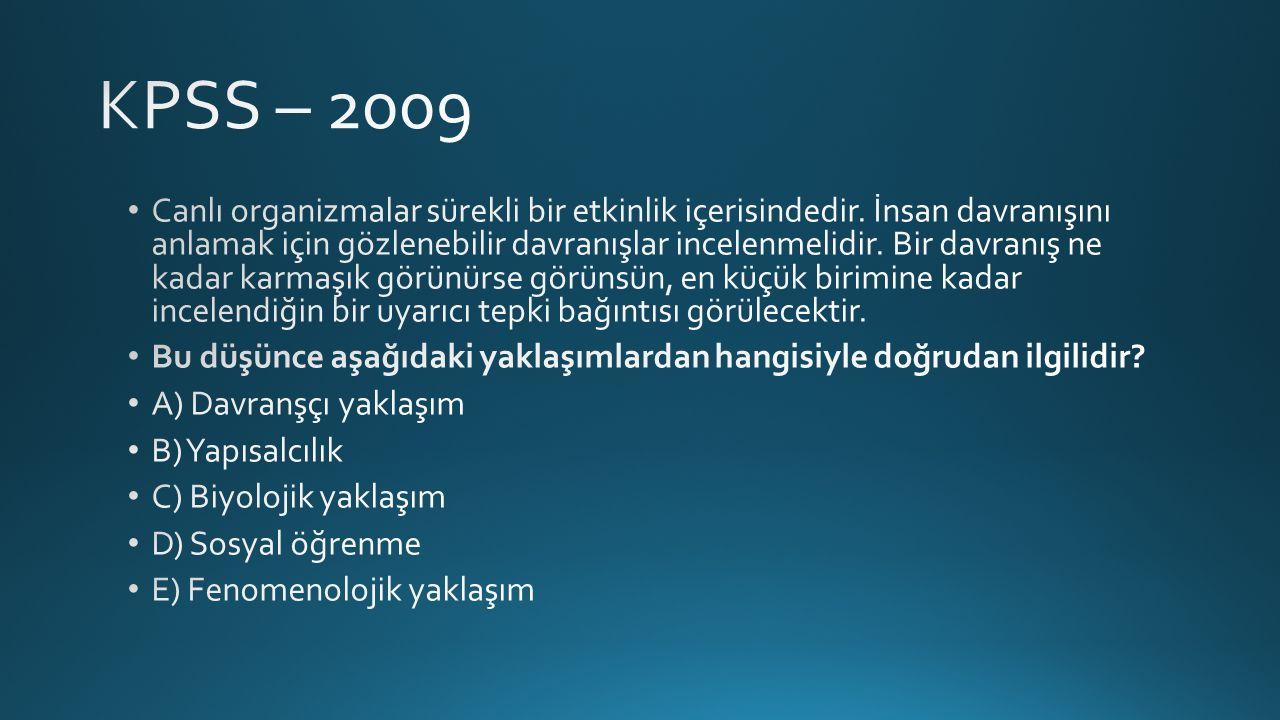 KPSS – 2009