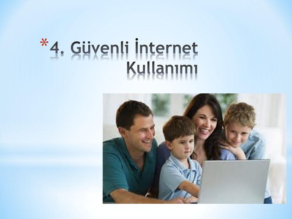 4. Güvenli İnternet Kullanımı