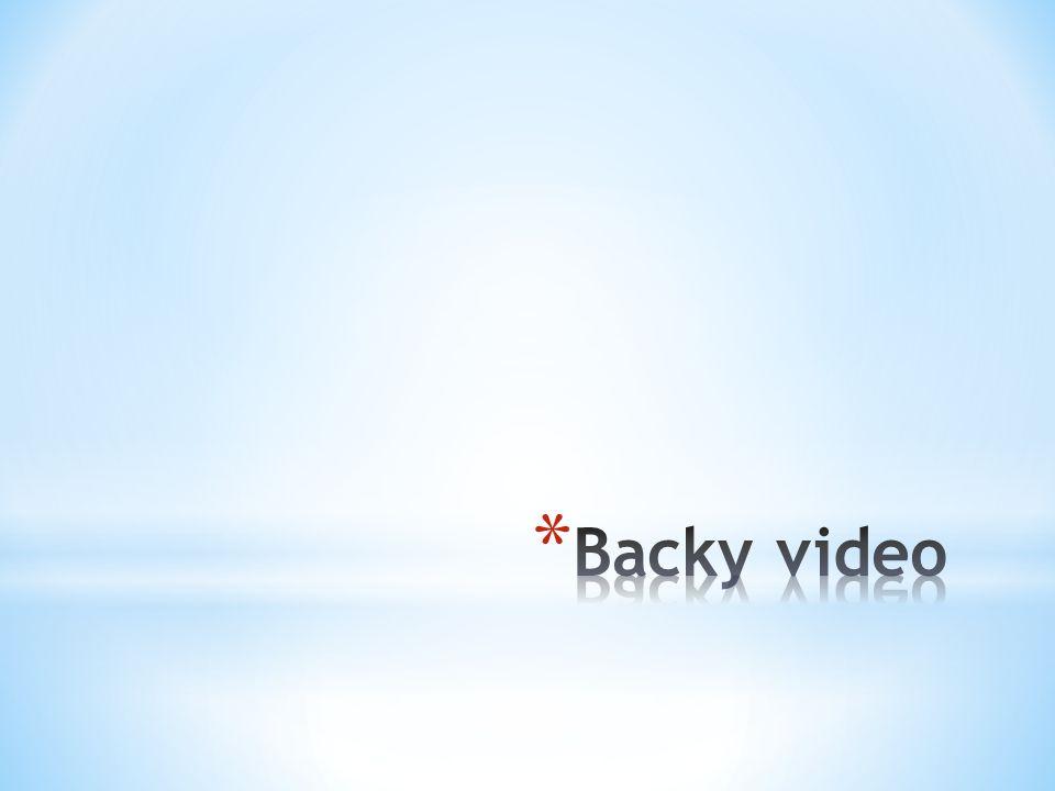 Backy video