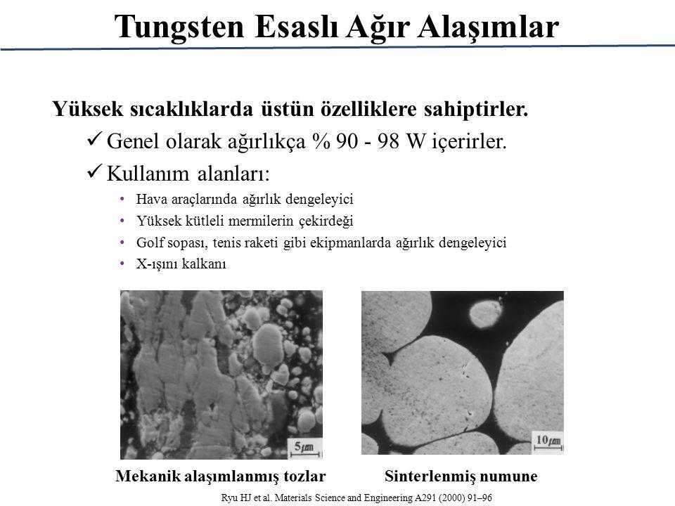 Tungsten Esaslı Ağır Alaşımlar