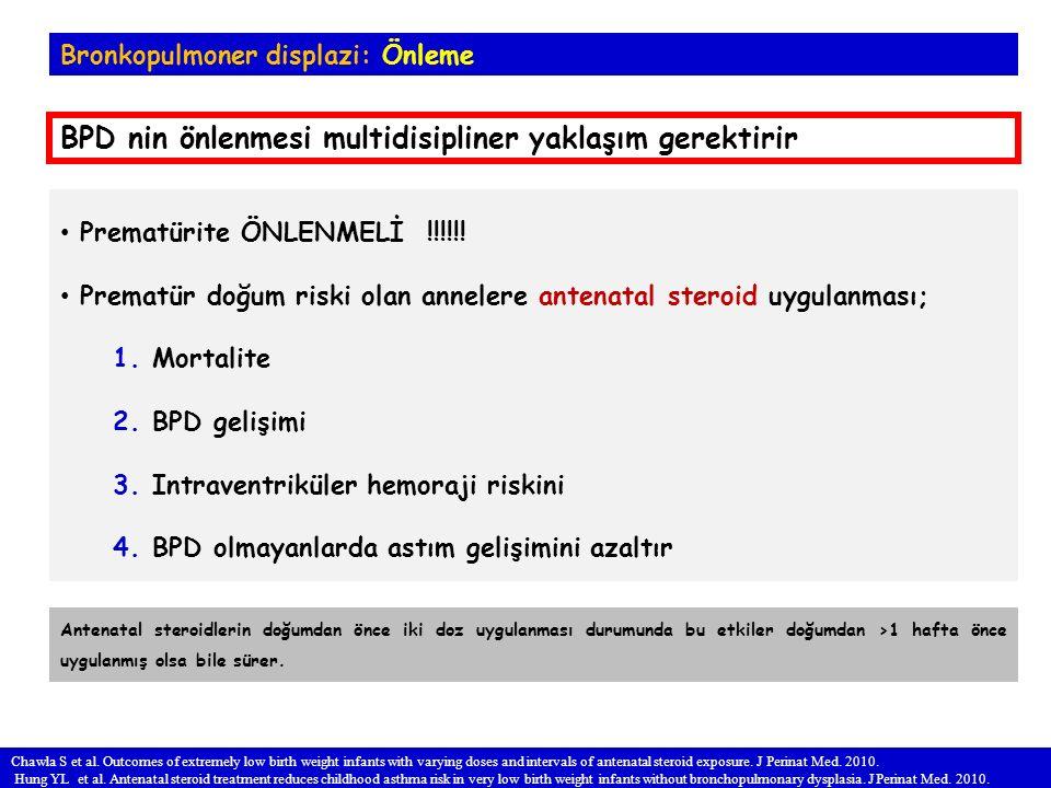 BPD nin önlenmesi multidisipliner yaklaşım gerektirir