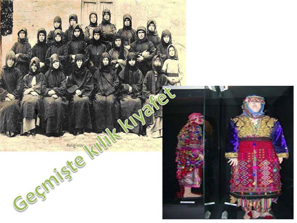 Geçmişte kılık kıyafet