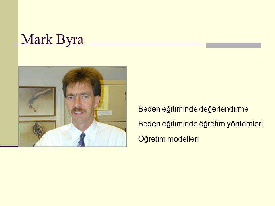Mark Byra Beden eğitiminde değerlendirme