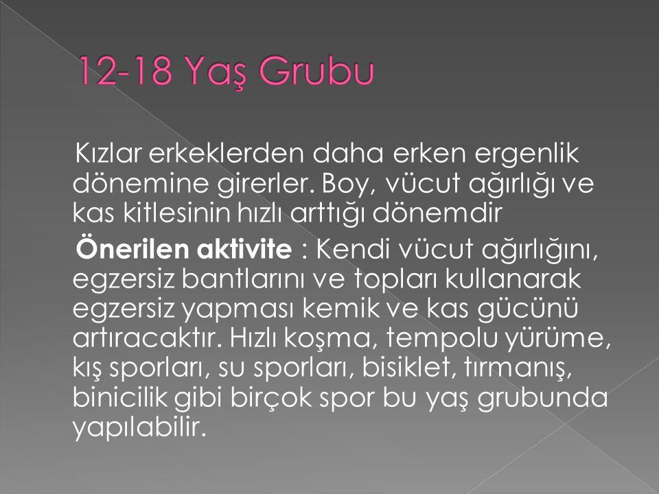 12-18 Yaş Grubu