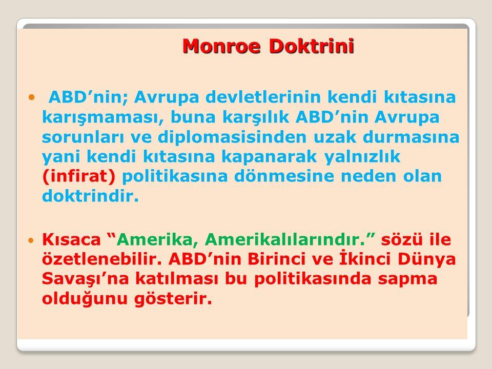 Monroe Doktrini
