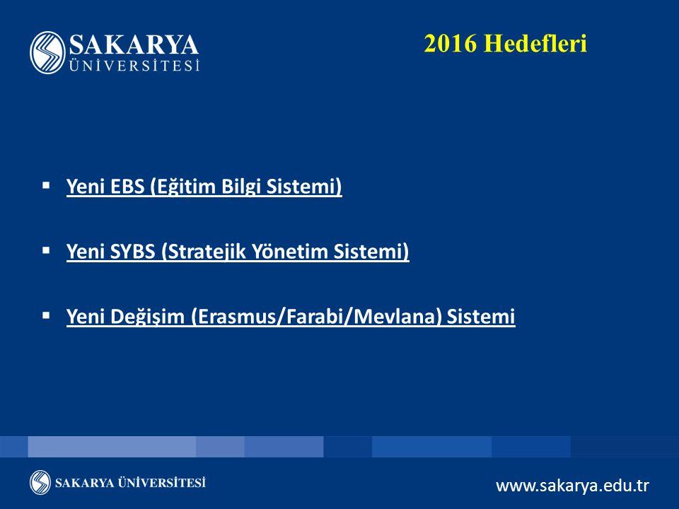 2016 Hedefleri Yeni EBS (Eğitim Bilgi Sistemi)