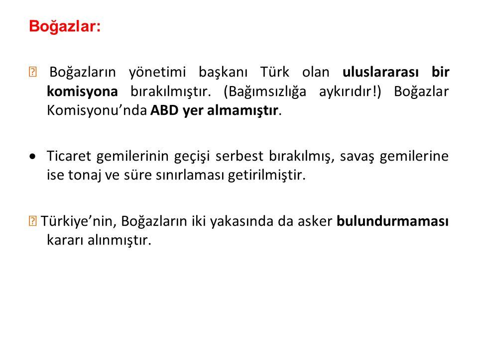 Boğazlar:
