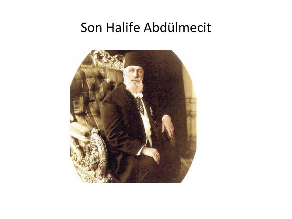 Son Halife Abdülmecit