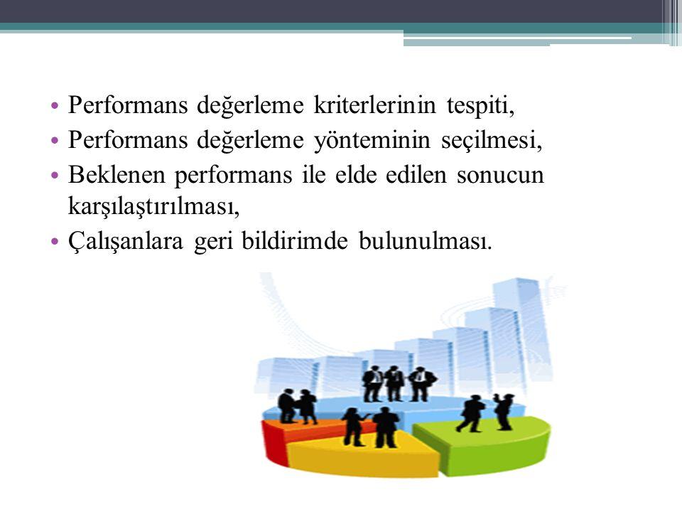 Performans değerleme kriterlerinin tespiti,