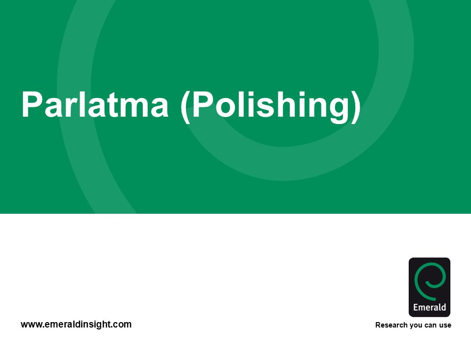 Parlatma (Polishing)