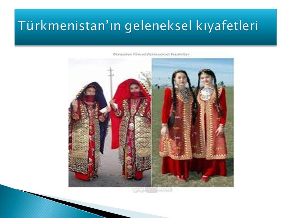 Türkmenistan'ın geleneksel kıyafetleri
