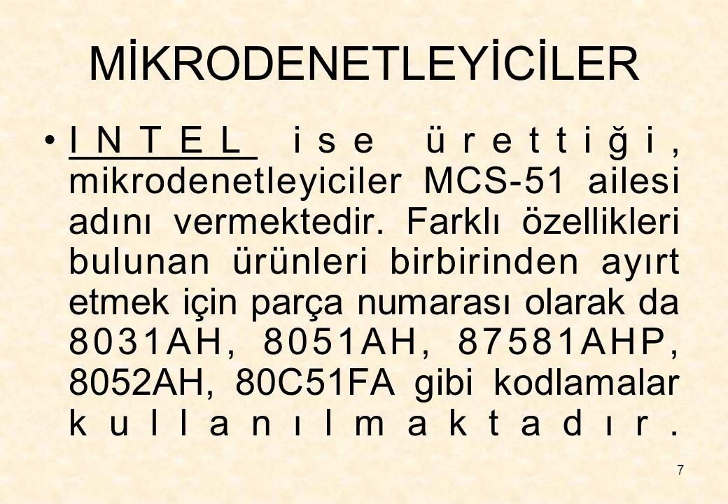 MİKRODENETLEYİCİLER