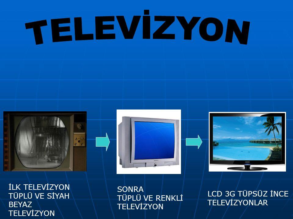 TELEVİZYON İLK TELEVİZYON TÜPLÜ VE SİYAH BEYAZ TELEVİZYON